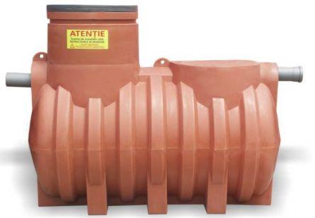 Separator de hidrocarburi AquaClean din polietilena cu montare subterana NS3 FS600