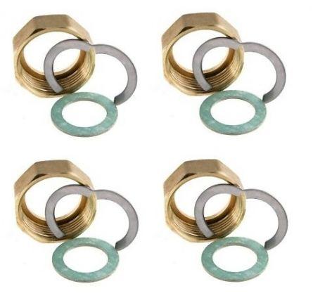 Set 4 piulite 1``1/4 - DN25 pentru instalarea tubului din inox