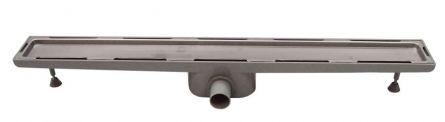 Sifon tip rigola faiantabila pentru cabina dus cu gratar inox 890mm
