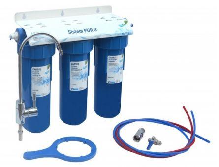 Sistem filtrare apa potabila in 3 trepte Pur 3