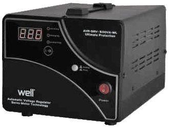 Stabilizator de tensiune cu servomotor 5000va 3000w Well