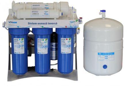 Statie osmoza inversa cu mineralizare si pompa AquaPur