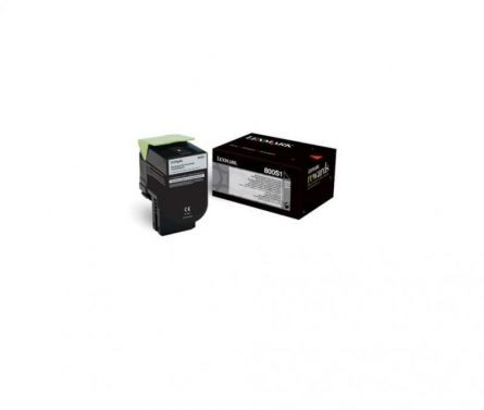 LEXMARK 80C0S10 BLACK TONER