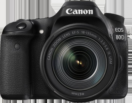 PHOTO CAMERA CANON 80D EF 18-135 IS USM