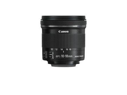 LENS CANON EF-S 10-18/4.5-5.6 IS STM