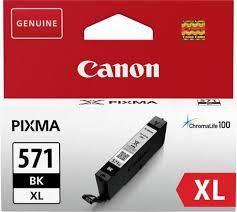CANON CLI-571XLBK BLACK INKJET CARTRIDGE