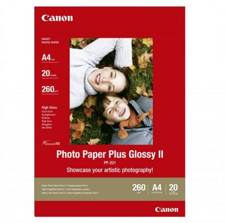 CANON PP-201 A4 GLOSSY PHOTO PAPER