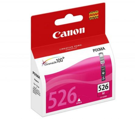 CANON CLI-526M MAGENTA INKJET CARTRIDGE