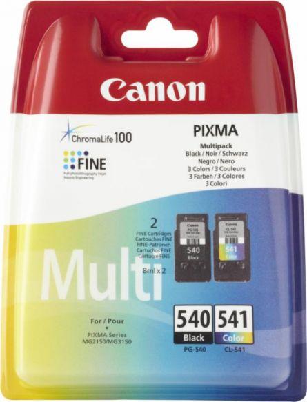 CANON PG540/CL541 INKJET PACK CARTRIDGES