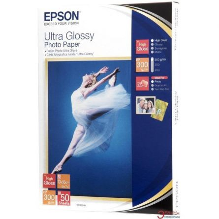 EPSON S041944 13x18 GLOSSY PHOTO PAPER