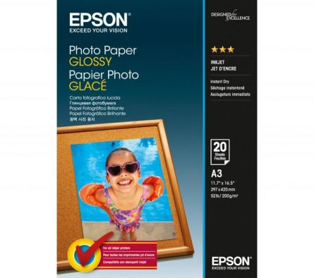 EPSON S042536 A3 GLOSSY PHOTO PAPER