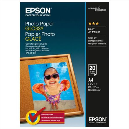 EPSON S042538 A4 GLOSSY PHOTO PAPER