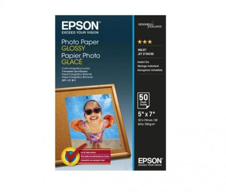 EPSON S042545 13x18 GLOSSY PHOTO PAPER