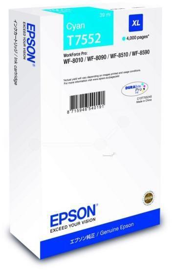 EPSON T75524 CYAN INKJET CARTRIDGE
