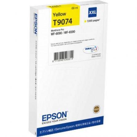 EPSON T9074 YELLOW INKJET CARTRIDGE
