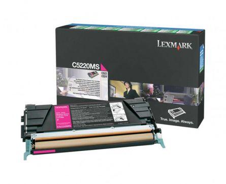 LEXMARK C5220MS MAGENTA TONER