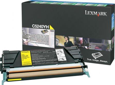LEXMARK C5240YH YELLOW TONER