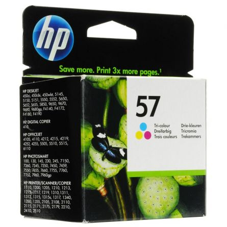 HP C6657AE COLOR INKJET CARTRIDGE