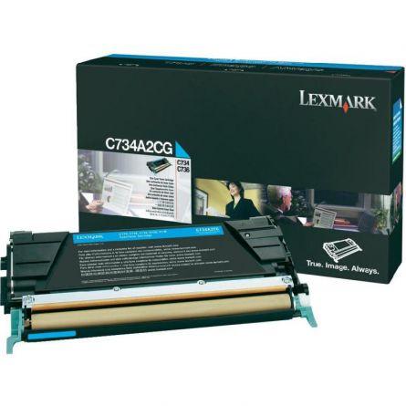 LEXMARK C734A2CG CYAN TONER