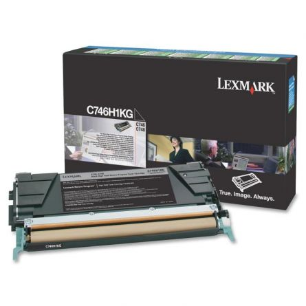 LEXMARK C746H1KG BLACK TONER