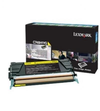 LEXMARK C748H3YG YELLOW TONER