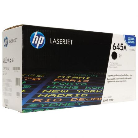 HP C9730A BLACK TONER CARTRIDGE