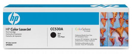 HP CC530A BLACK TONER CARTRIDGE