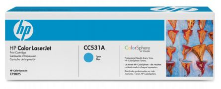 HP CC531A CYAN TONER CARTRIDGE
