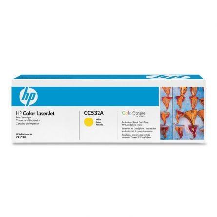 HP CC532A YELLOW TONER CARTRIDGE