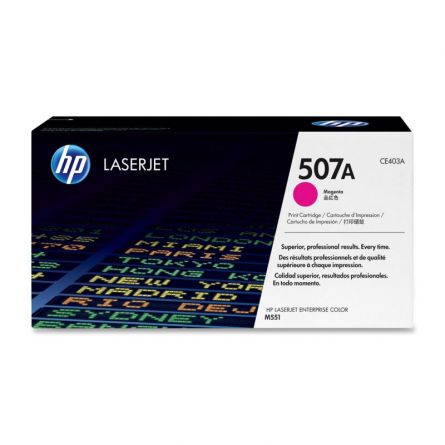 HP CE403A MAGENTA TONER CARTRIDGE