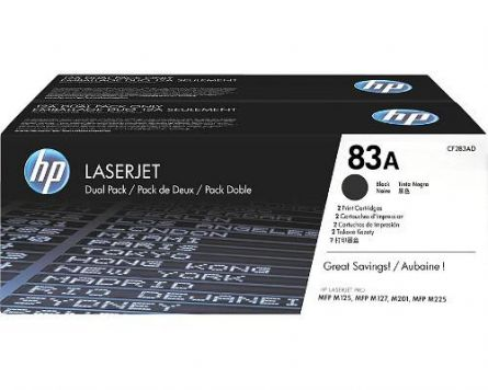 HP CF283AD BLACK TONER CARTRIDGE