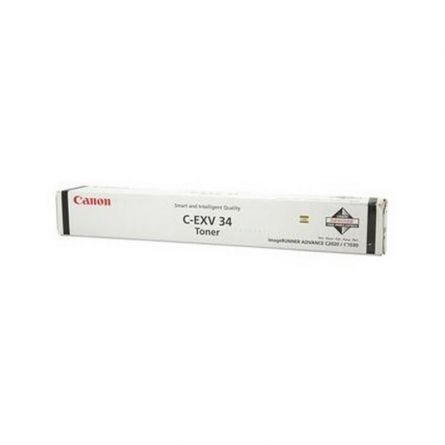 CANON CEXV34B BLACK TONER CARTRIDGE