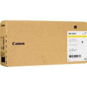 CANON PFI-707Y YELLOW INKJET CARTRIDGE