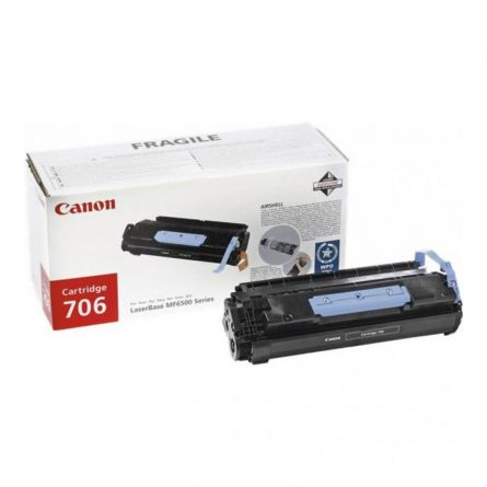 CANON CRG706 BLACK TONER CARTRIDGE