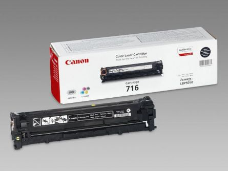 CANON CRG716B BLACK TONER CARTRIDGE