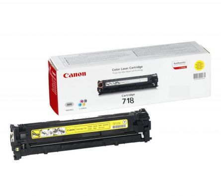 CANON CRG718Y YELLOW TONER CARTRIDGE