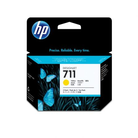 HP CZ132A YELLOW INKJET CARTRIDGE