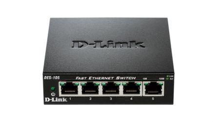 DLINK SW 5P-FE UNMNGD DESK METAL