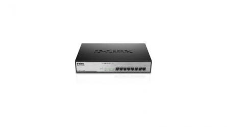 DLINK SW 8P-GB 8P-POE UNMNGD DESK
