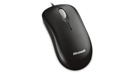 MOUSE MICROSOFT WIRED OPTIC USB BLACK
