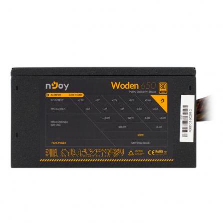 SURSA ATX 650W NJOY PWPS-065A04W-BU01B