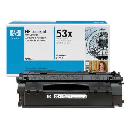 HP Q7553X BLACK TONER CARTRIDGE