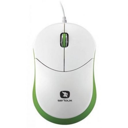 MOUSE SERIOUX RAINBOW 680 GREEN USB