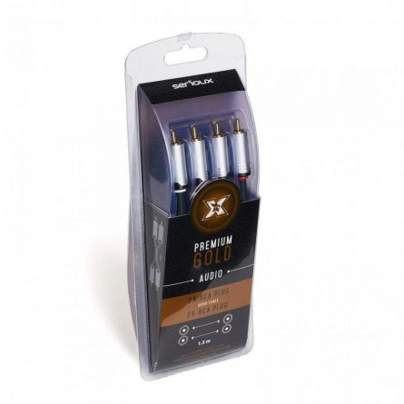 X BY SERIOUX 2XRCA M- 2XRCA M CABLE 1.5M
