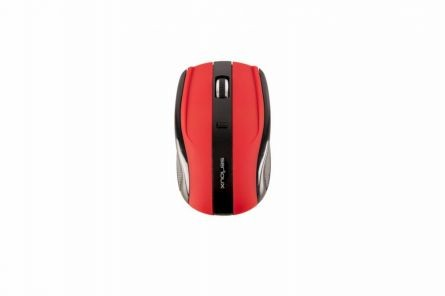 MOUSE SERIOUX RAINBOW400 WR RED USB