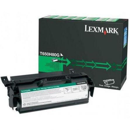 LEXMARK T650H80G BLACK TONER
