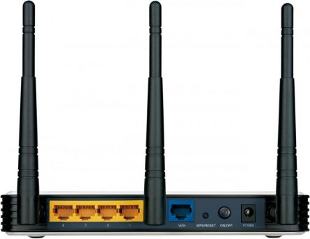 TPL ROUTER N450 FE 2.4GHZ 3 ANT FIXE
