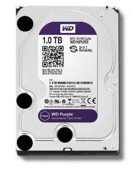 WD HDD3.5 1TB SATA WD10PURZ