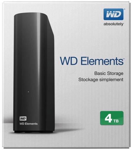 EHDD 4TB WD 3.5