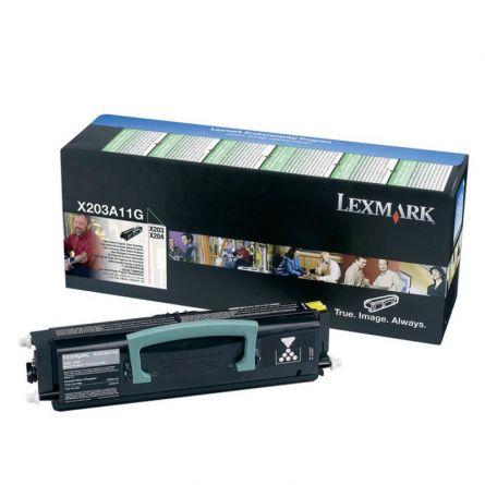 LEXMARK X203A11G BLACK TONER